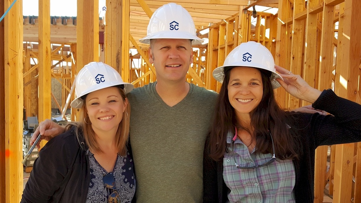 Heather Post, Ryan Miller, and Amy Post on a site visit  Murrieta, CA