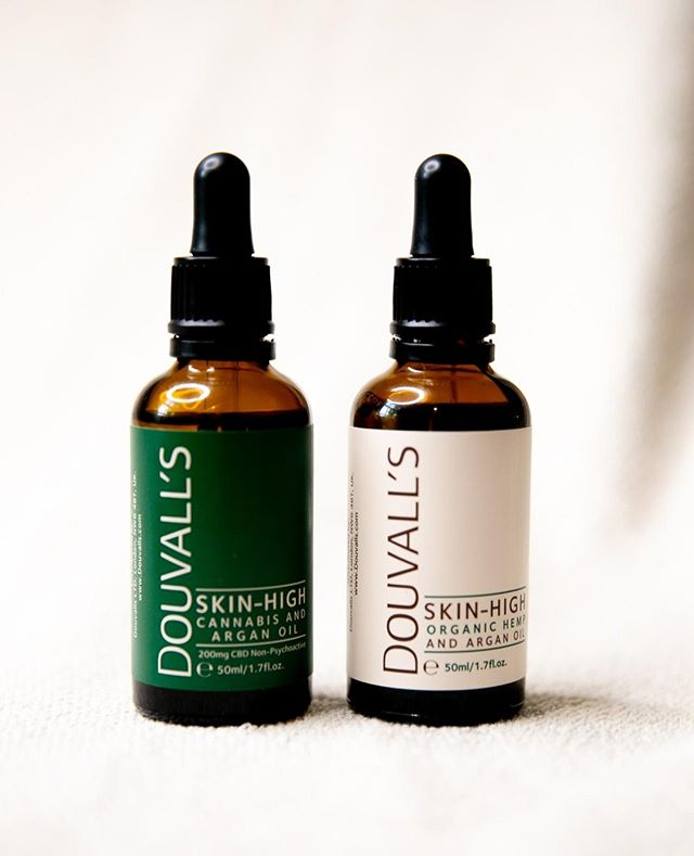 Say hello to SKIN HIGH! ☁️ @Douvalls new CBD and Hemp infused Argan oils.   Using 2-4 drops, gently apply to face as part of your evening skincare routine for optimal nourishment and recovery of skin. THC free.  📷: @Wearekilpatrickagency   For all enquires please email douvalls@wearekilpatrick.com #Kilpatrick #KilpatrickPR #Londonagency #Digitalagency #BeautyPR #WeareKilpatrick #Douvalls