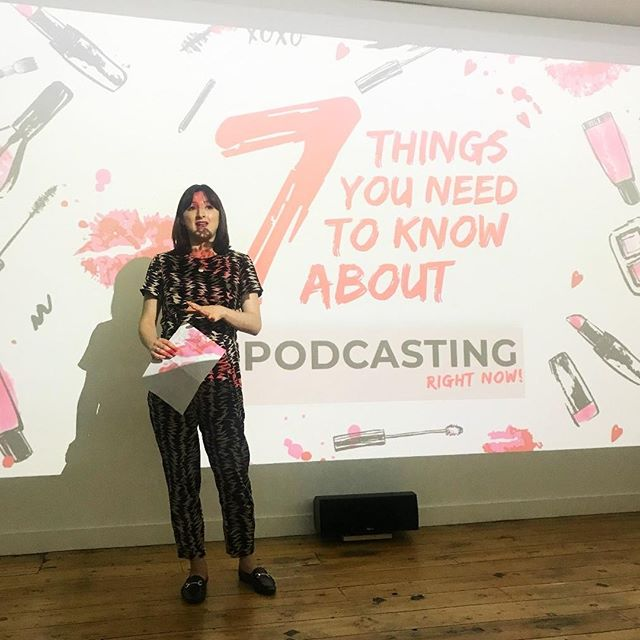 Last month we kicked off our very first Kilpatrick Presents event series with an Introduction to Podcasting.  @outspokenbeautynicola shared her insights on podcasting, how to work with podcasts, who's listening and many more.  Do you want to come to our next industry event?   For all enquires please email hello@wearekilpatrick.com #Kilpatrick #KilpatrickPR #Londonagency #Digitalagency #BeautyPR #WeareKilpatrick