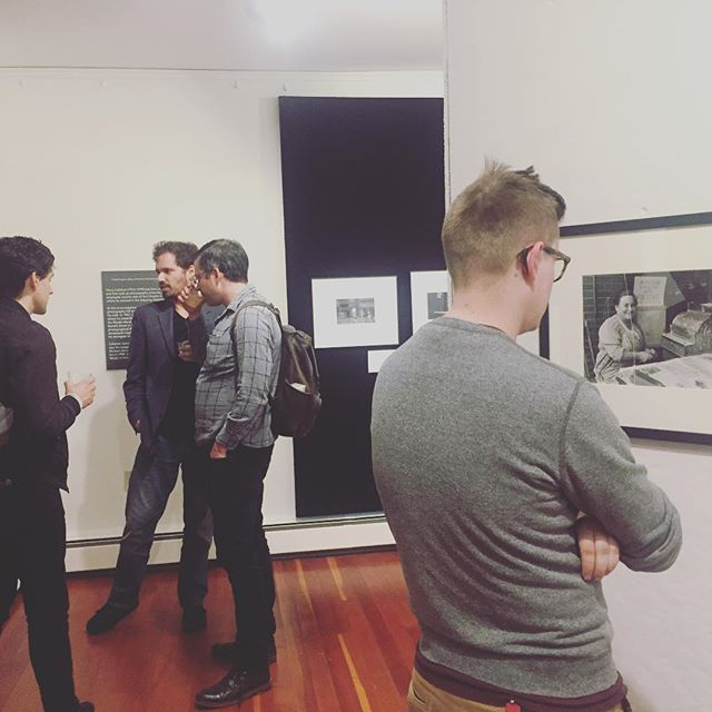 It was a packed house at the opening of The Providence Album, Vol I: Carmel Vitullo and Harry Callahan tonight @publichumans! Terrific to see friends from @rihumanities, @brownu, @haffenreffer_museum and @waterfireprov. The exhibition is open M-F 10-4 through July 22 at the Carriage House Gallery, John Nicholas Brown Center for Public Humanities and Cultural Heritage, 357 Benefit Street. #MyProvidence #YOTC2019