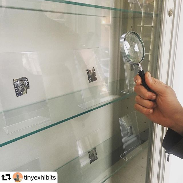 Check out the newest Tiny Exhibit featuring shipping's of Providence @tinyexhibits Little/Big Providence curated by @mottison @moxlea @mygrandpasoldcamera_  #myprovidence #providence #yotcprovidence2019