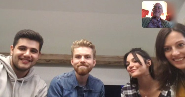Great HSS London/NYC online session today w/Amrit, James, Francesca and Hannah!