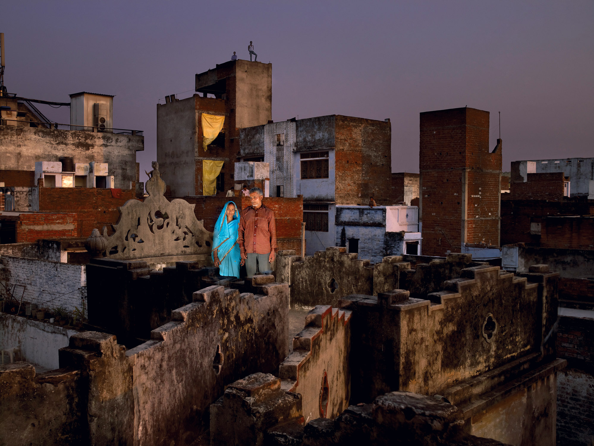 indian couple, VArAnASI