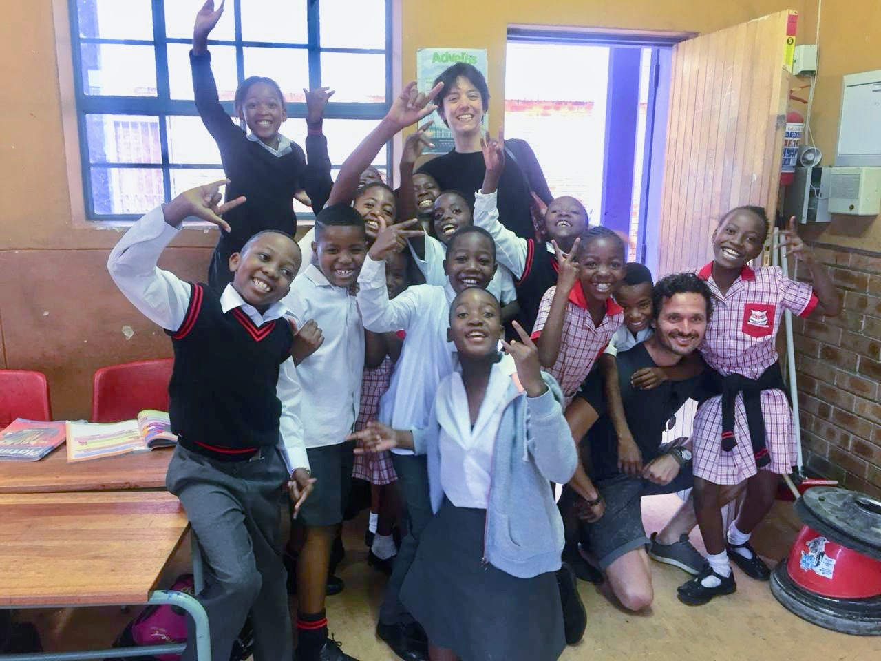 Our visit at Gordon Primary School in Alexandra. The kids get their first exposure to the Yoga4Alex program through 30 minute classes that take place during the school day in their classroom.