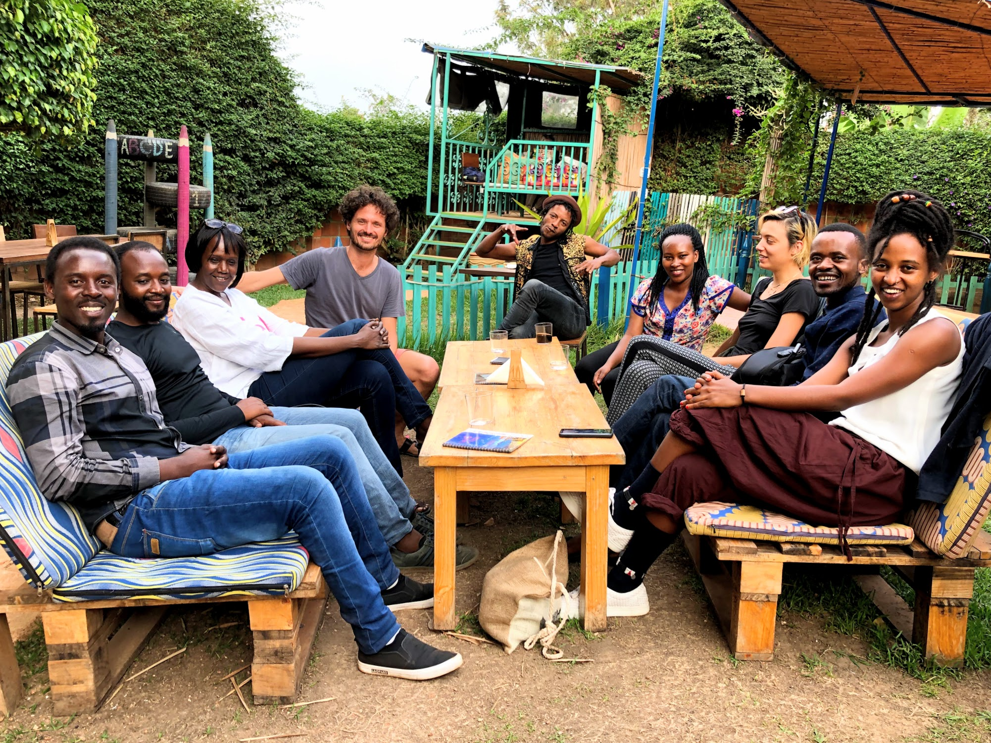 The new members of AZAHAR Foundation Rwanda meeting for the first time! We are so proud to bring together such passionated and inspiring individuals to join this new dream team.