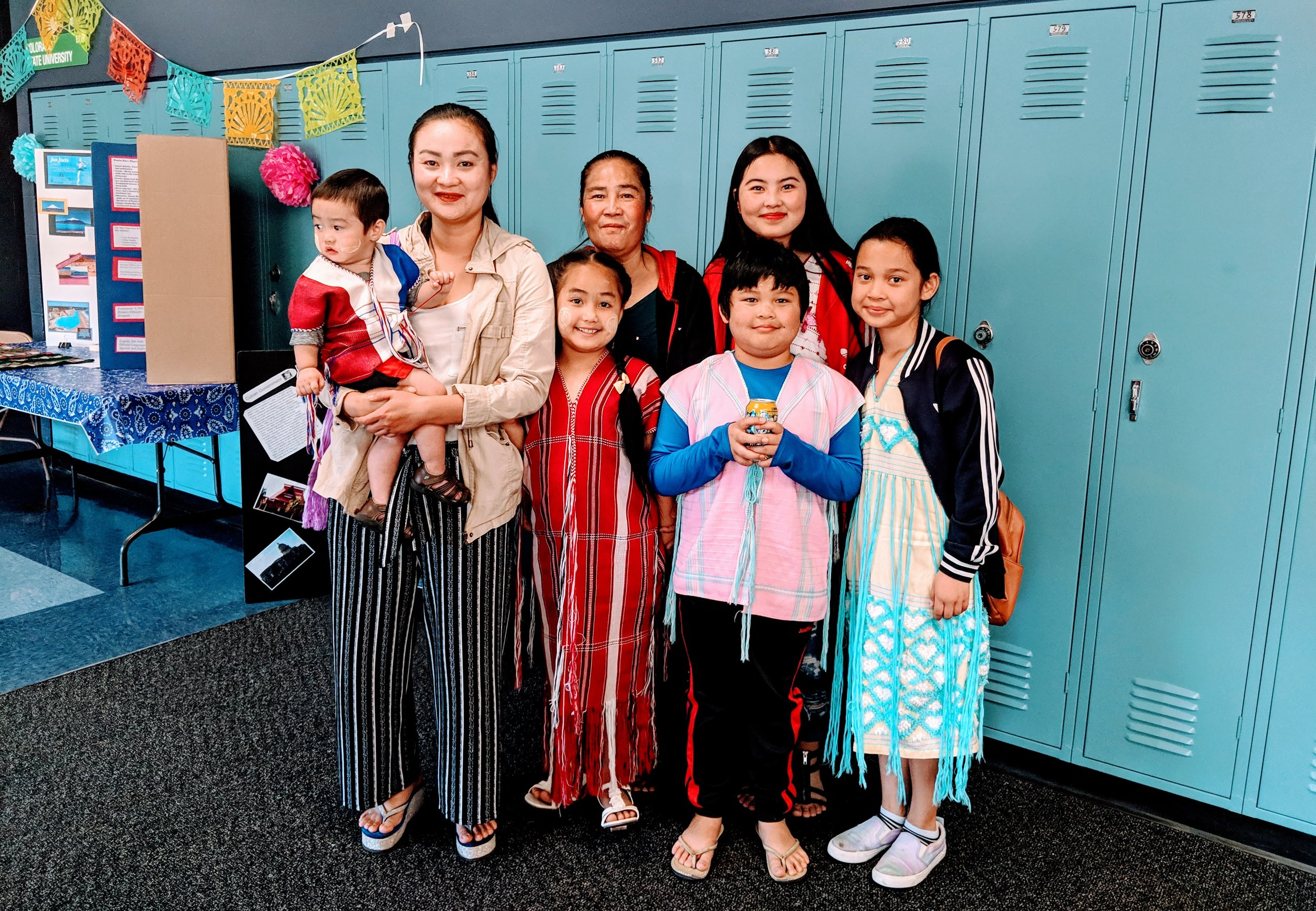 Karen-Burmese family at International Night, Place Bridge Academy, Denver. May 2016. Photo: Louise El Yaafouri. The following is an excerpt from   The Newcomer Student: An Educator's Guide to Aid Transition   (Rowman & Littlefield, 2016).