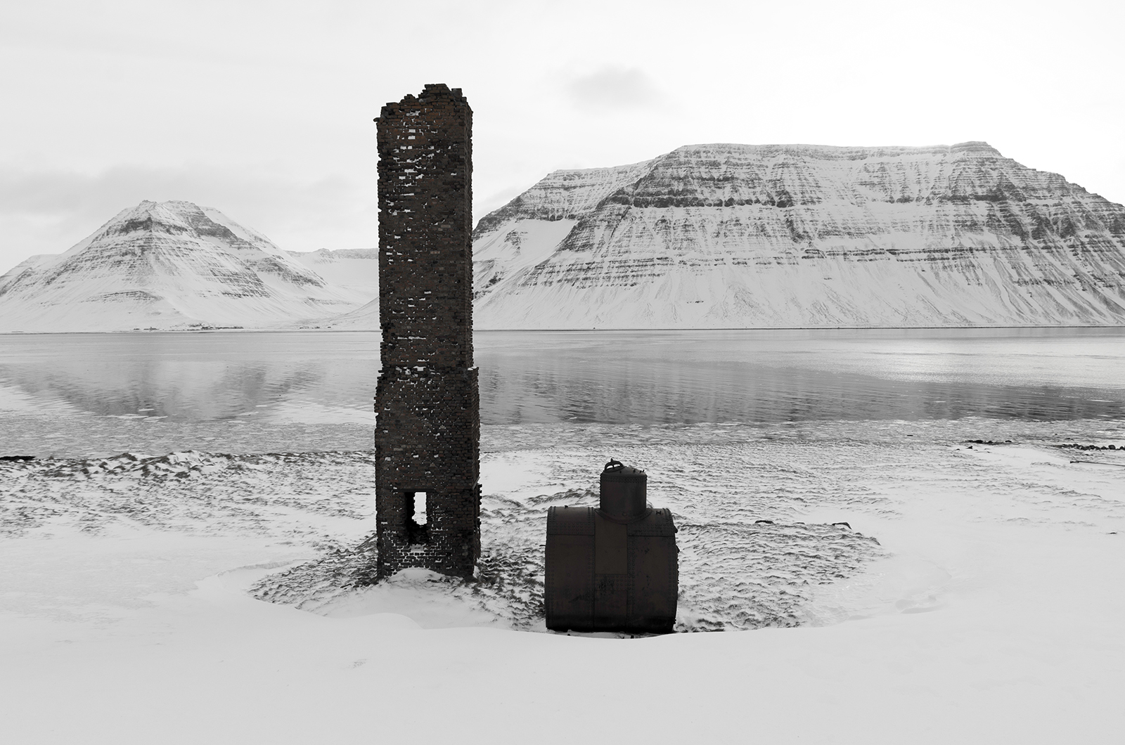 Fragments of a Chimney in the Westfjords - © Mike Best