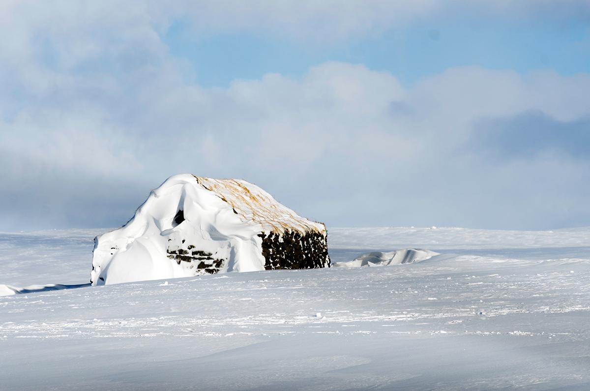 Snowy Cabin - © Mike Best