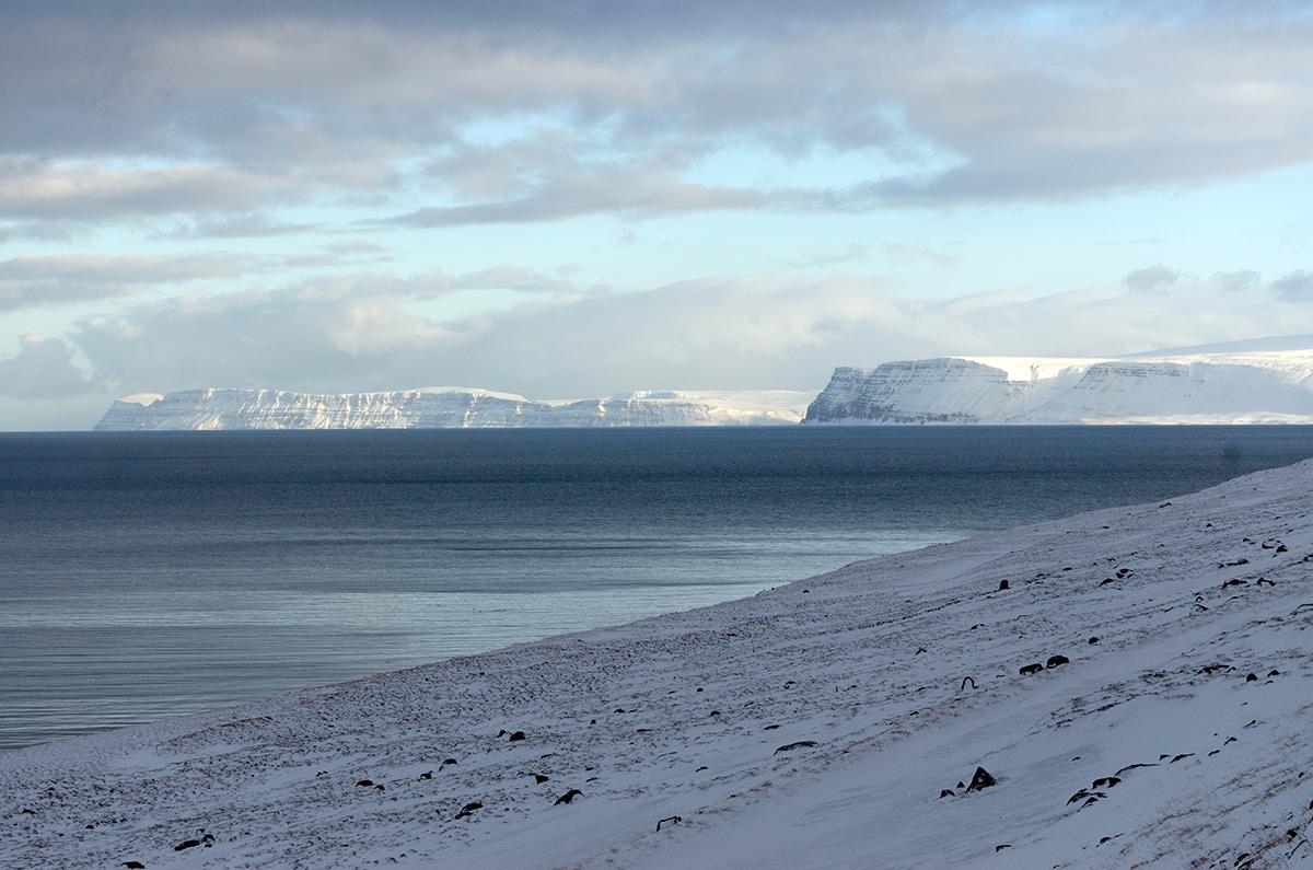Steely Blue Westfjords - © Mike Best