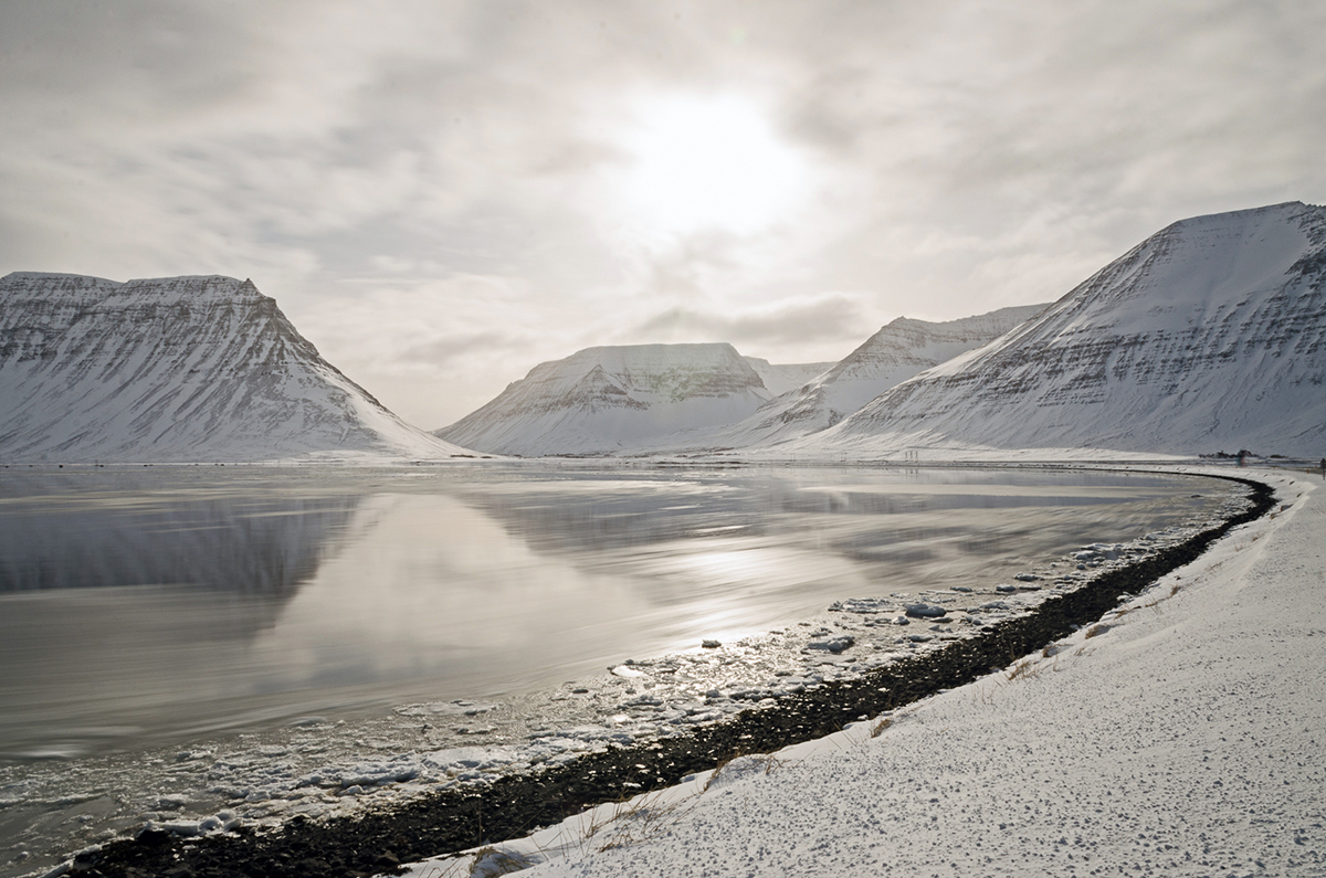 Wintery Lake in the Westfjords - © Mike Best