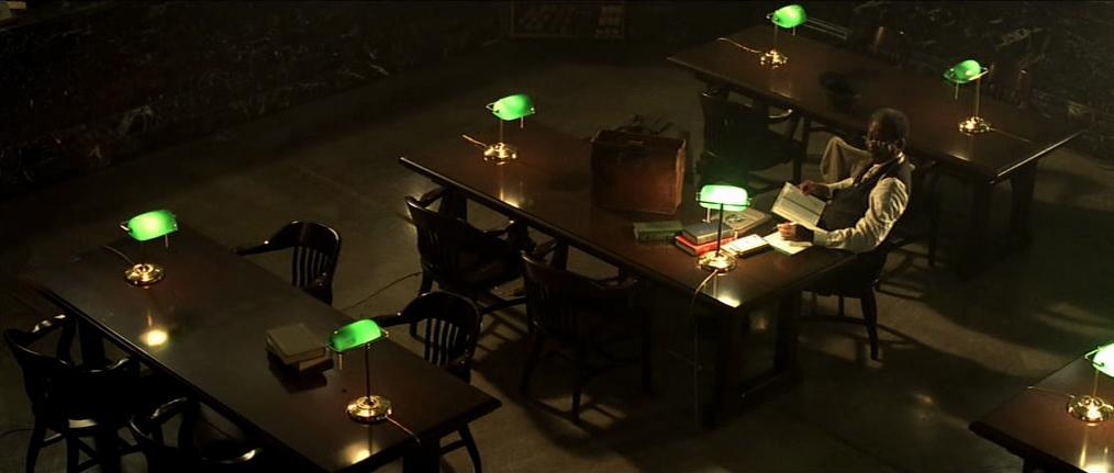 'Practical' lighting in  Seven -  New Line Cinema