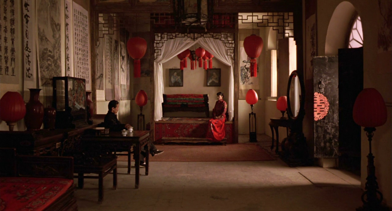 Still from  Raising the Red Lantern,  Produced by Hou Hsiao-hsien Chiu Fu-sheng Zhang Wenze