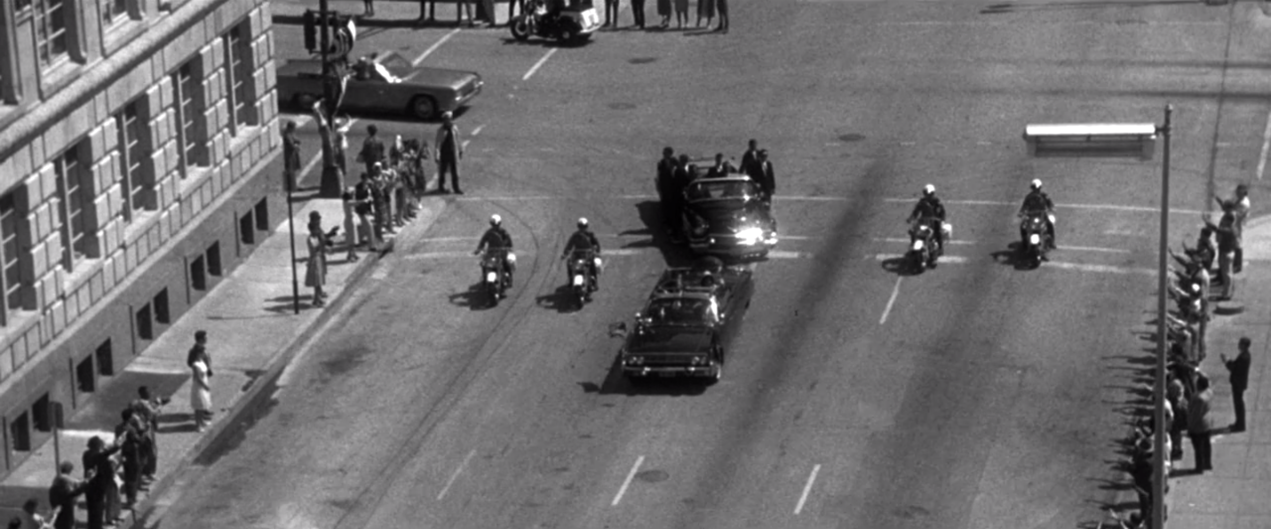 Still from  JFK - Warner Bros.