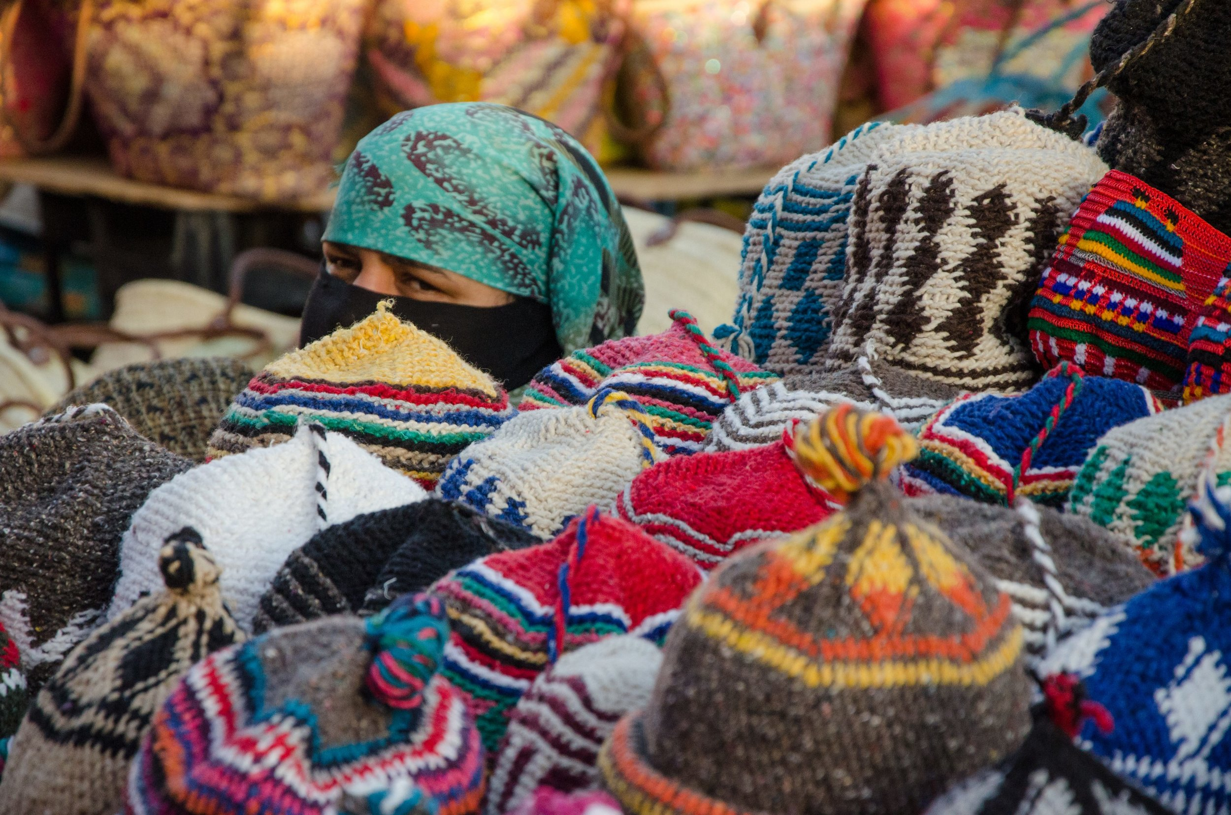 Hat Maker, The Medina in Morocco 2017 © Mike Best