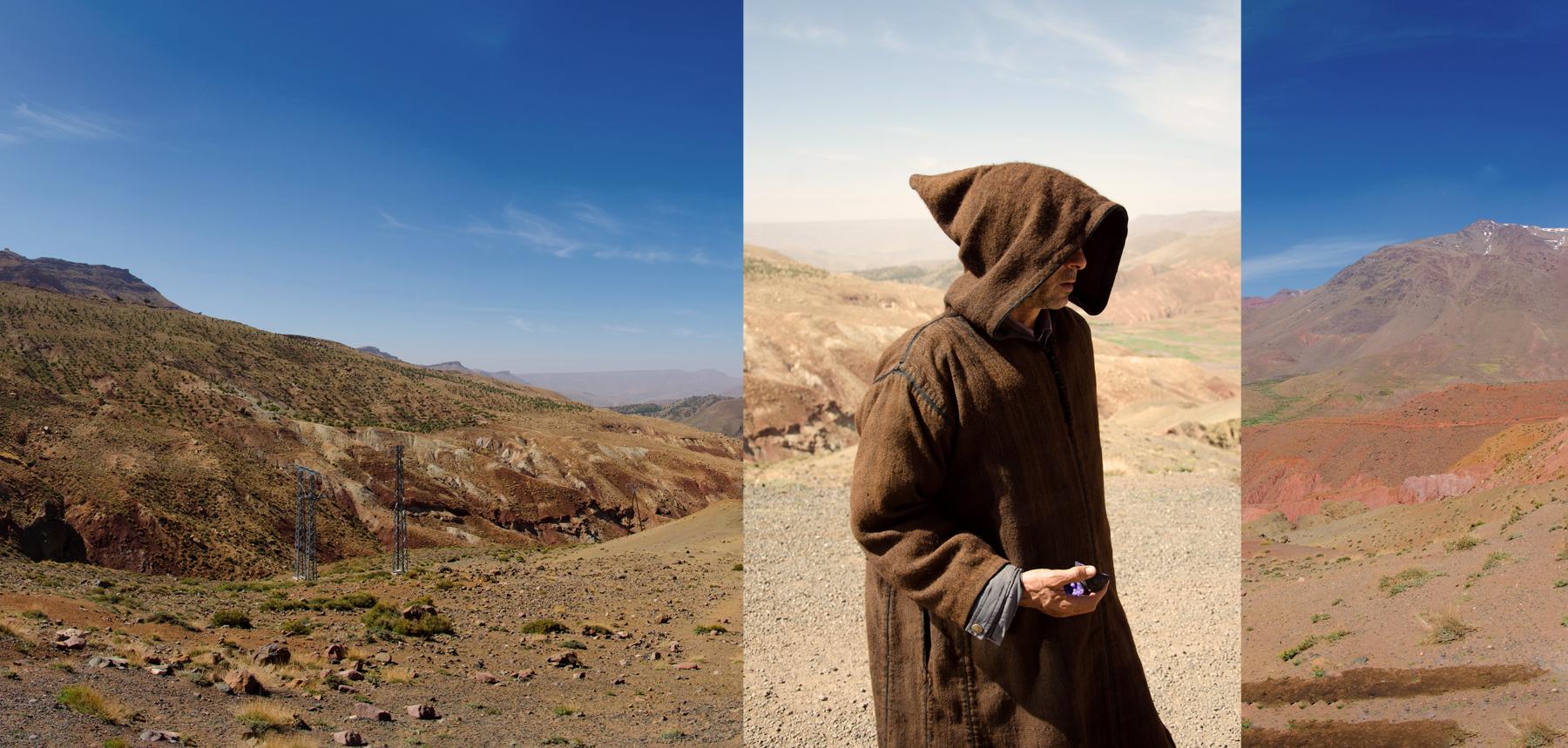 Berber Peddler, Atlas Mountains, Morocco. 2016 - © Mike Best