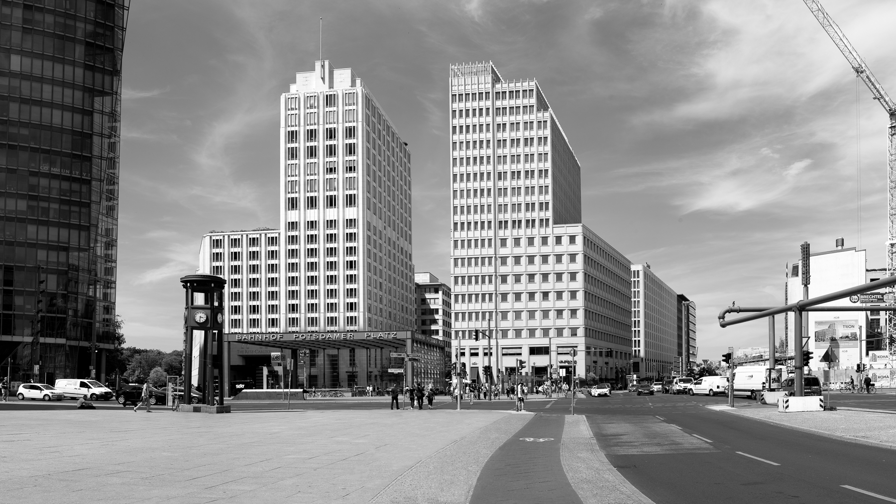 Potsdamer Platz, Berlin. © Mike Best