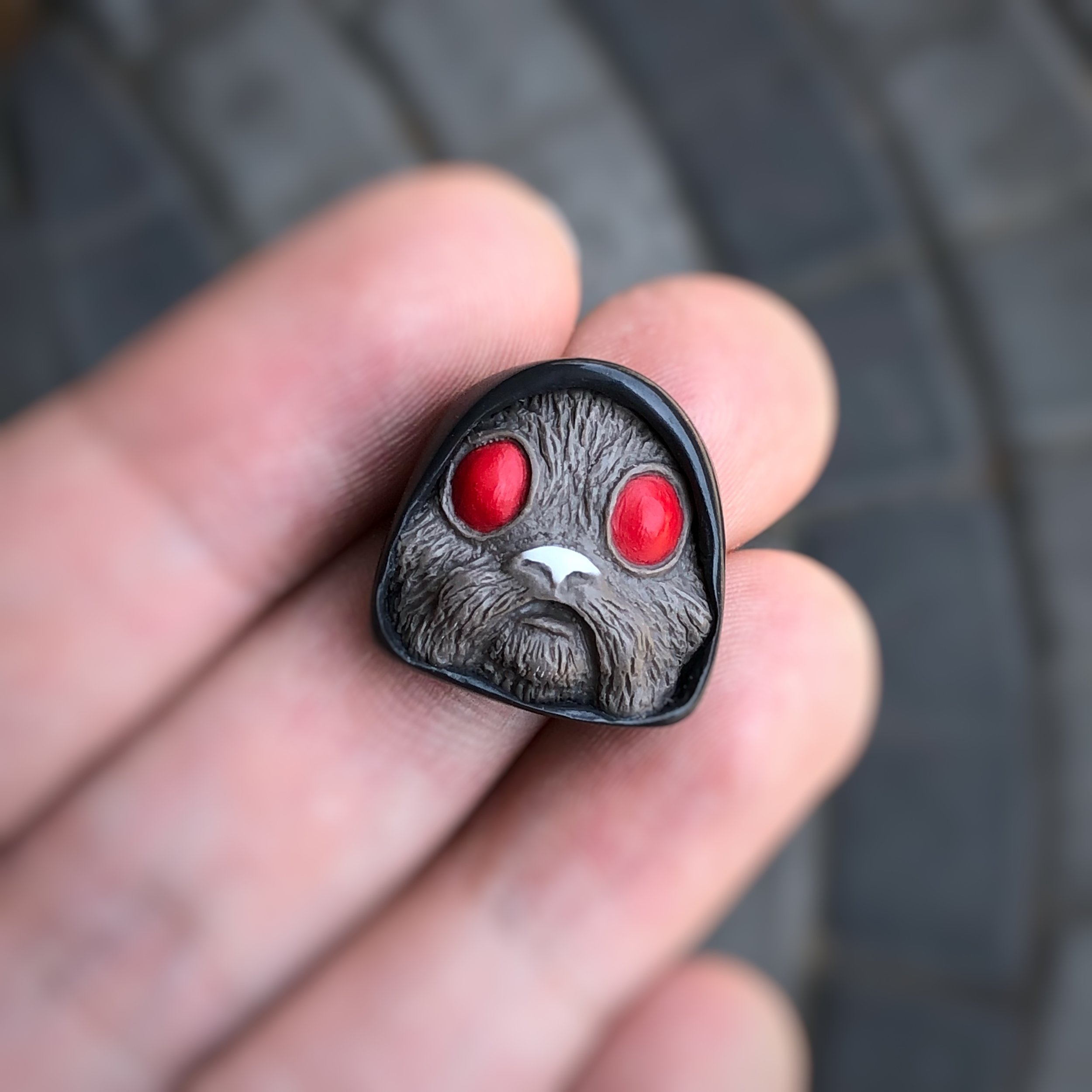 Alpha Keycaps - jedi blinker - Blood Hound