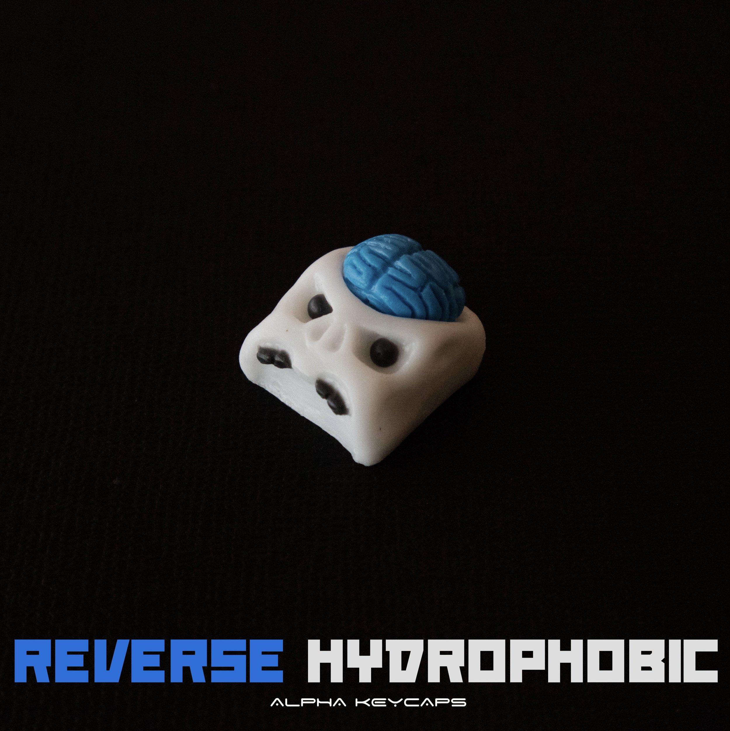 Alpha Keycaps - Reverse Hydrophobic cherep
