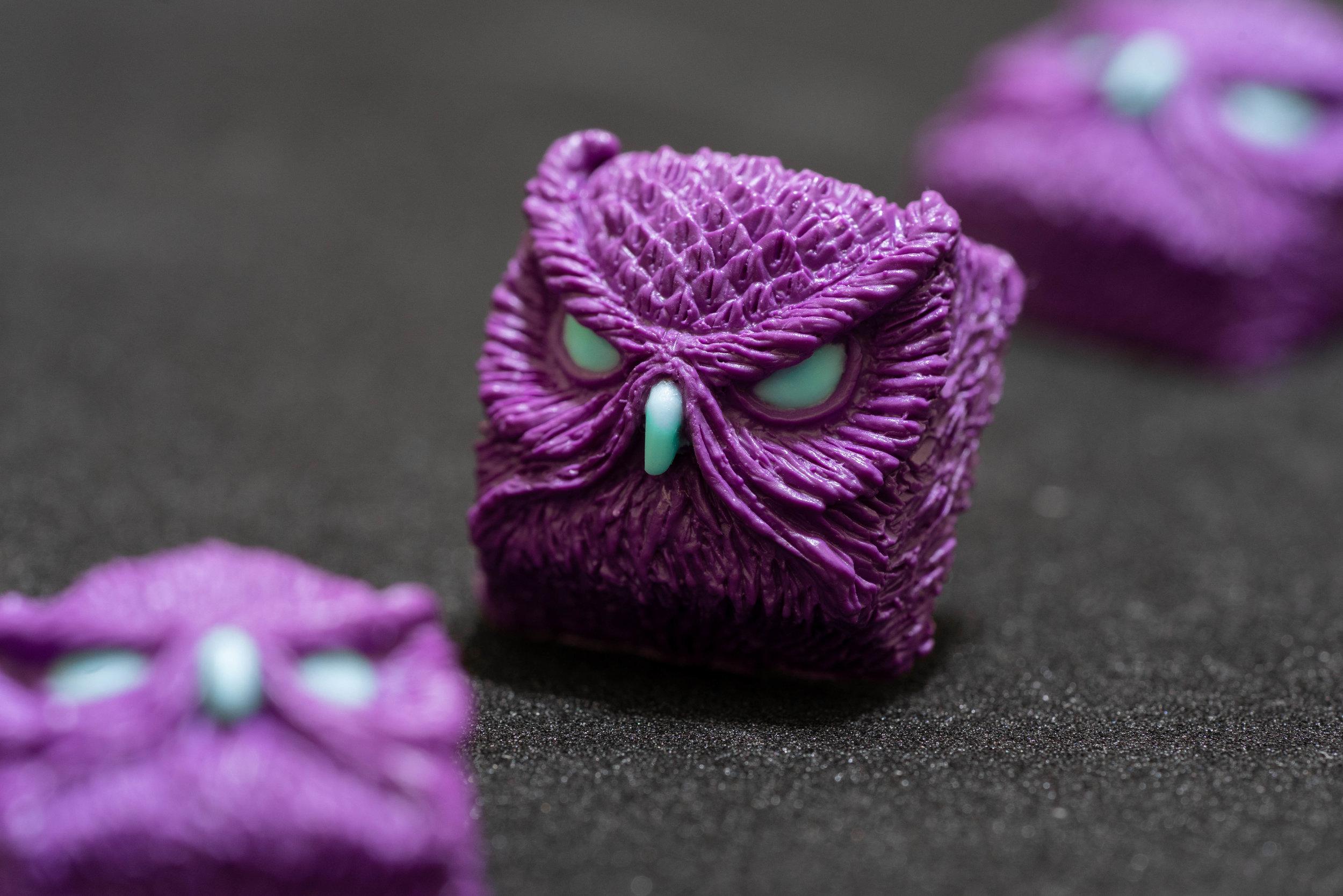 Alpha Keycaps - keypora - HFO Purple