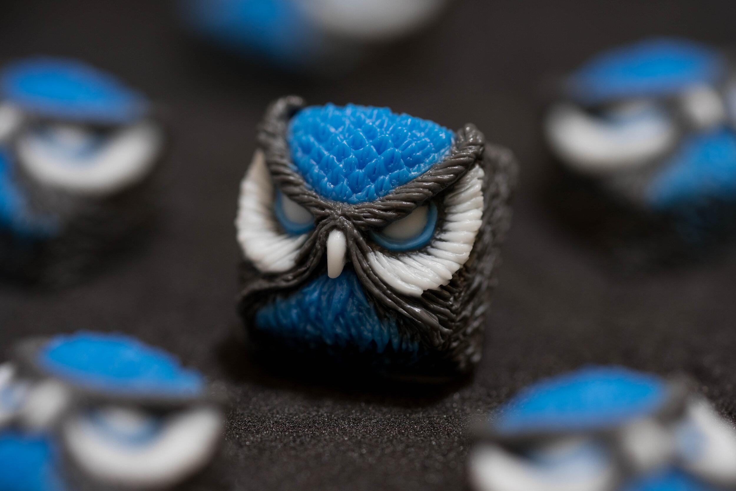 Alpha Keycaps - Blue Bird keypora