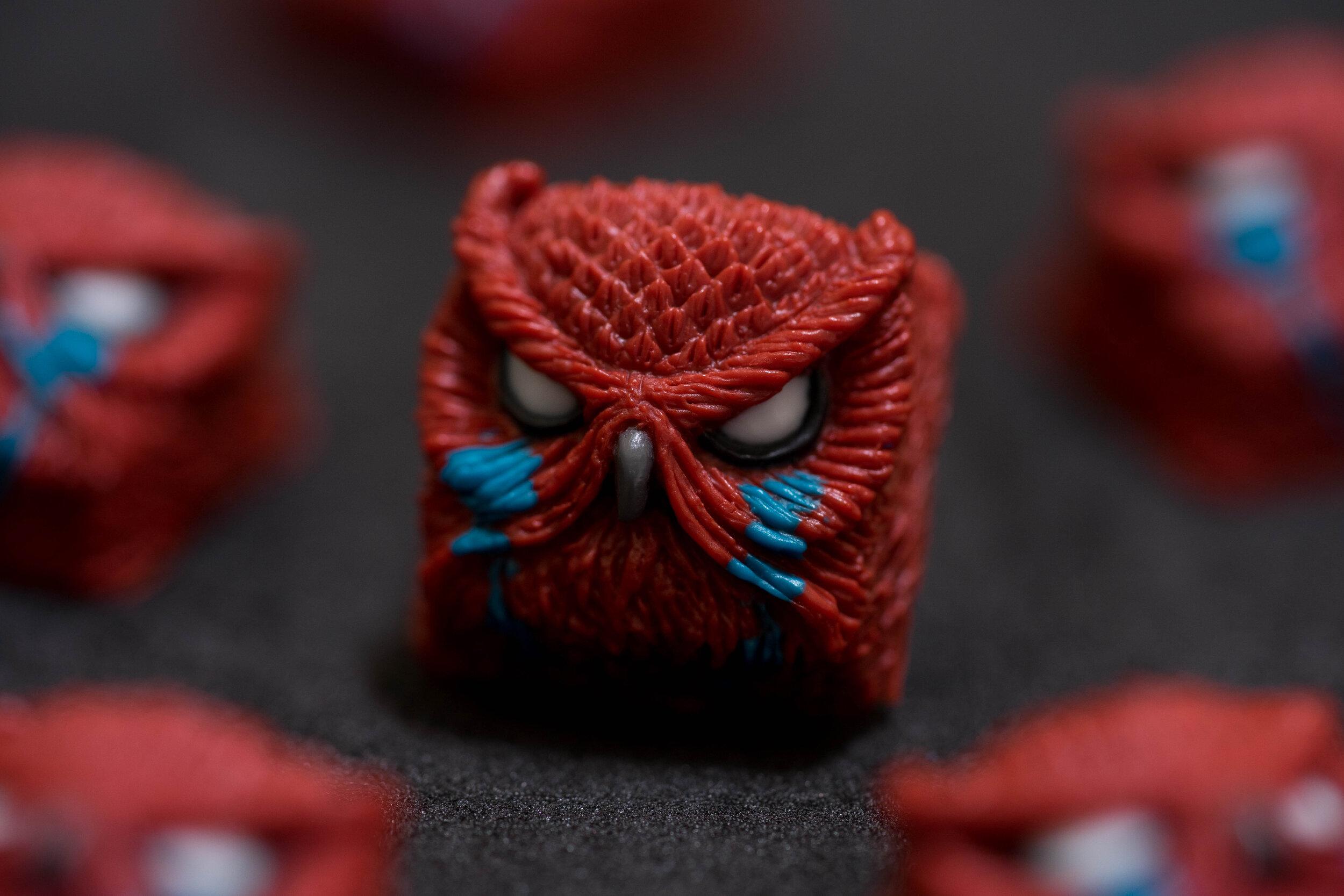 Alpha Keycaps - keypora - Spiderverse