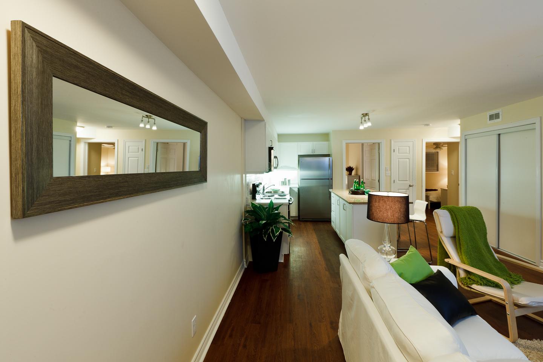 326 Alfred St. _u007c_ 3 Bedroom Suite, Living Room Photo, Looking towards Kitchen, Open Concept, Hardwood floors.jpg
