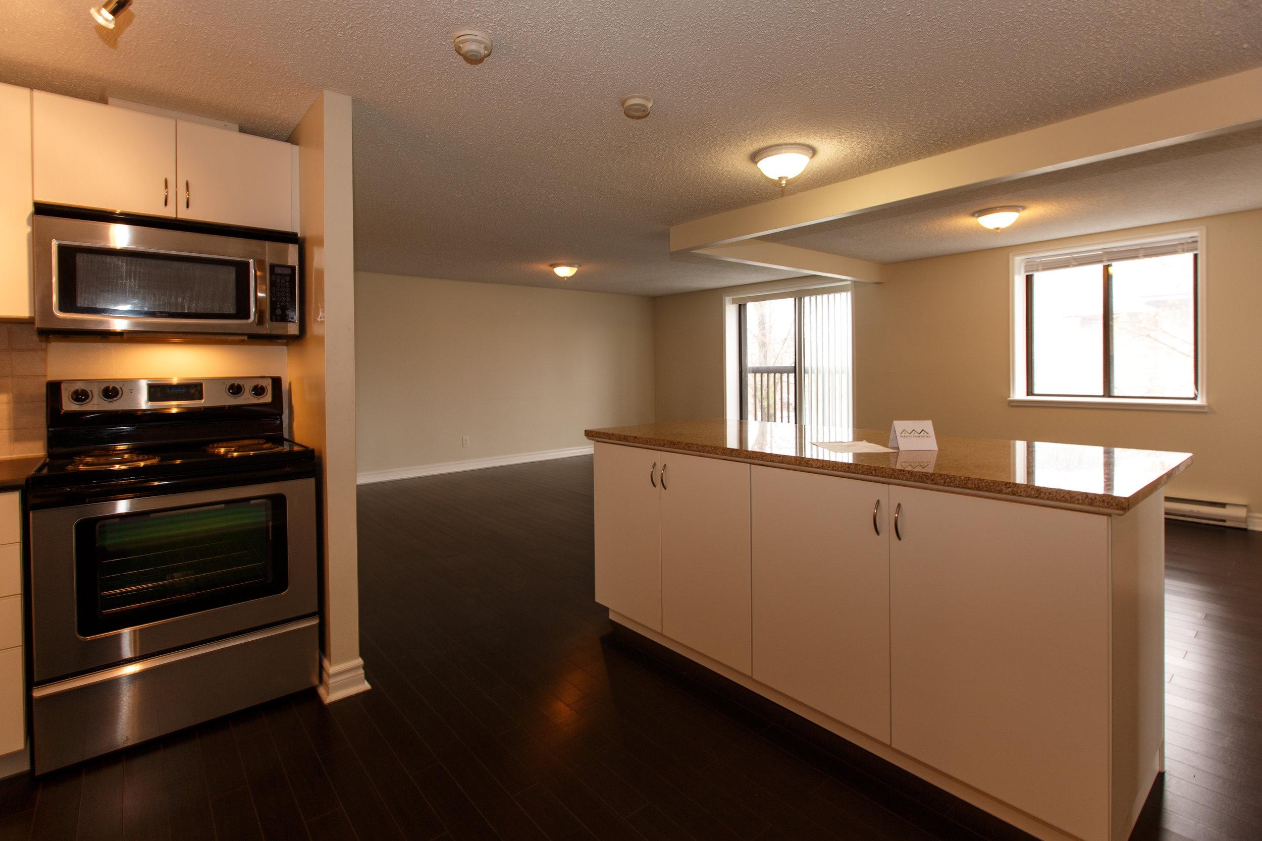 311 Queen St. _u007c_ Kitchen Photo, looking towards living room area.jpg