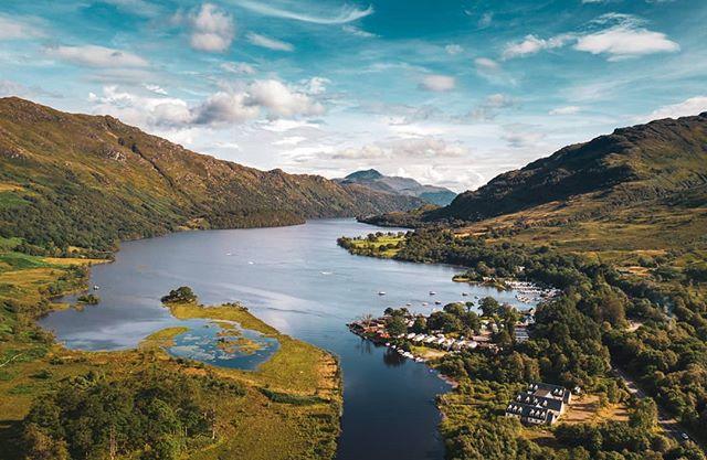 Loch Lomond, #Scotland . . . #aerial #drone #aerialart #depthsofearth #dronephotography #djimavic2 #mavic2pro #twentyfoursevendrones #travelphotography #malta #lovemalta #earthfocus #fromwhereidrone #lochlomond #scottishhighlands #highlands #nature