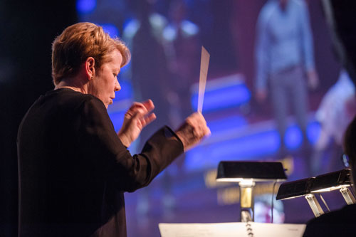 Marin Alsop returns not only as curator of Ravinia's Bernstein celebrations in 2019, including the command encore of  Mass , but also to conduct the festival's first complete performance and staging of Bernstein's  Trouble in Tahiti .