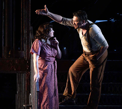 Patricia Racette and Szot starred as Anna and Frank Maurrant in Weill's  Street Scene  at Spain's Teatro Real in 2018 and will portray another couple on the rocks in Bernstein's  Trouble in Tahiti  at Ravinia on August 22.