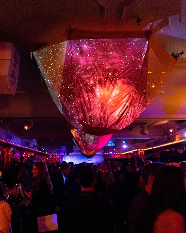 "Nothing says ""Camp"" like camping tents hanging upside down as chandeliers and projection surfaces... . Last Monday we provided lighting, projections and yes, rigging of tents for Up & Down's #metgala after party hosted by Serena Williams, Kim Kardashian West, Travis Scott, La La Anthony and Trevor Noah . Design and production by @dancingary @balangelo 📷 @bfa @tomasherold .  #eventlife #serenawilliams #kimkardashian #lalaanthony #travisscott #trevornoah #projections #lightingdesign"