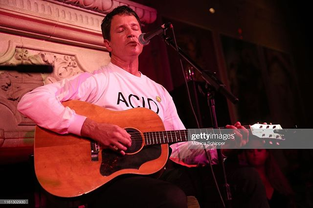 Last Wednesday @stephanjenkins of @thirdeyeblind hosted a preview of his @summergods_tequila at Rose Bar. He performed an acoustic set and was joined by band mate @kryzreid . Stage production by yours truly .  #thirdeyeblind #stephanjenkins #summergodstequila #summergods #rosebarsessions #livesound #stagelighting