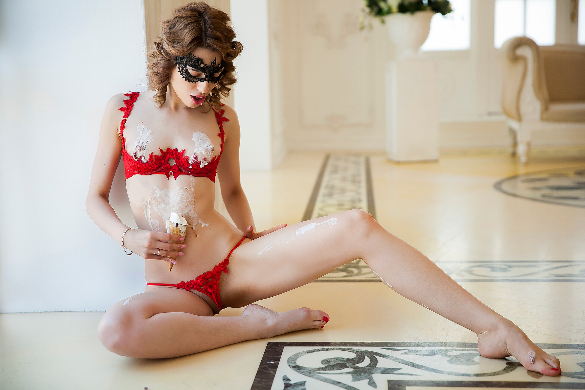 Avrora   - Avrora is a high class independent escort, lingerie and Playboy model.  She is intelligent, sensual and very friendly. Available in Brussels,  Luxembourg and Paris, but being an upscaled travel companion, Avrora is  also available worldwide by appointment.