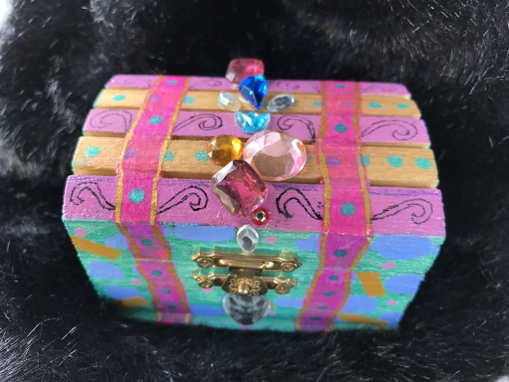 Day 13 Painted, Bejeweled and Bedazzled Little Box!