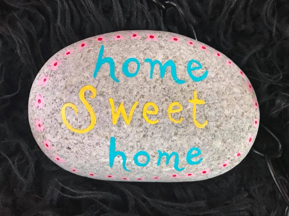 Day 112 Home Sweet Home Rock.
