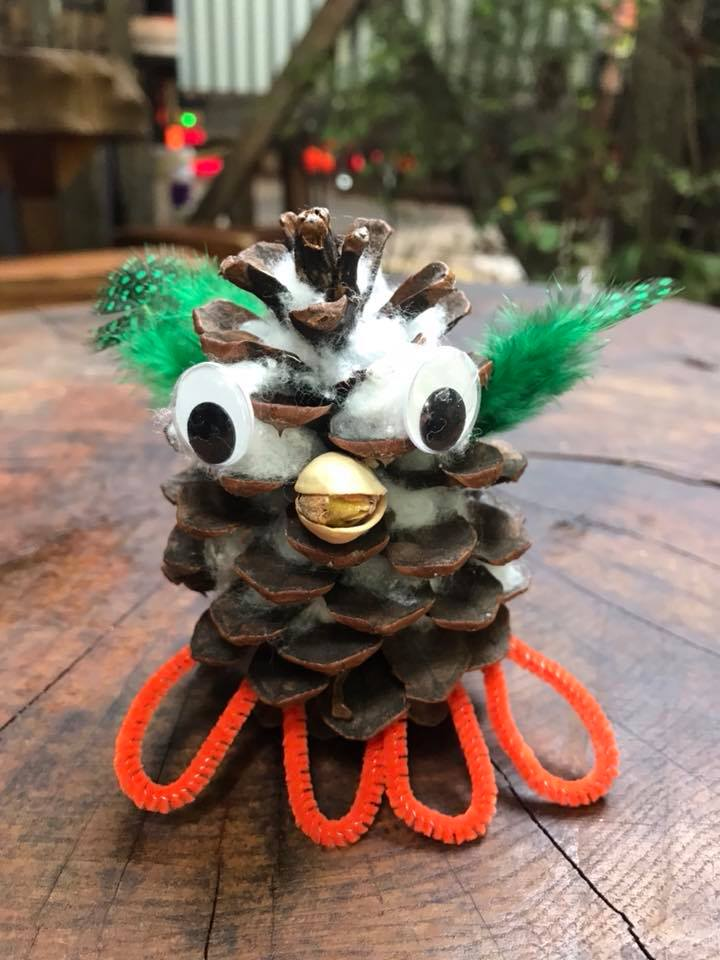 Day 196. Made this little guy at the Oregon Country Fair