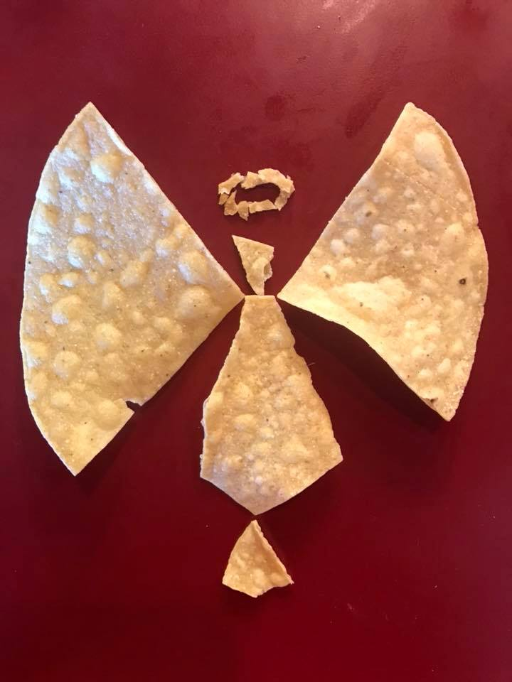 Day 197. Tortilla Chips Angel