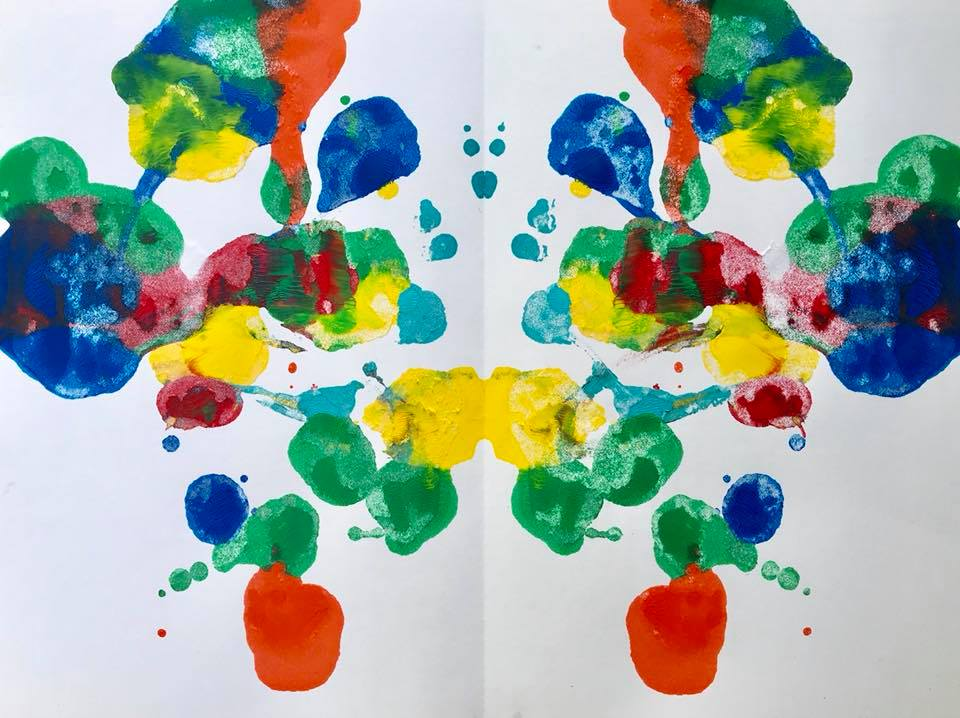 Day 212. Sue's Rorschach Test. What do you see?