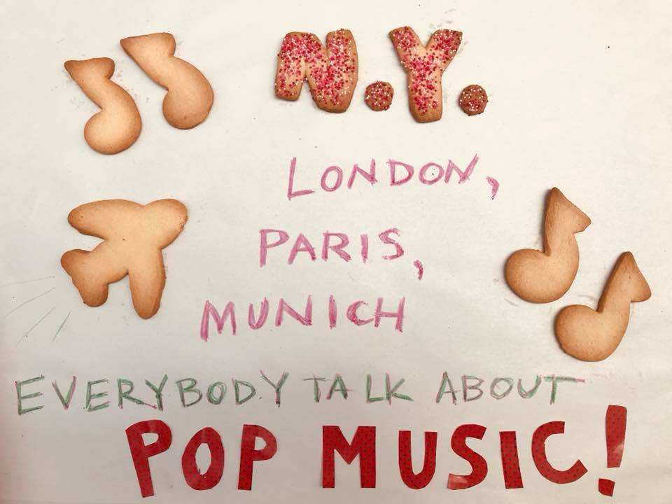 Day 234. Musical Travel Cookies