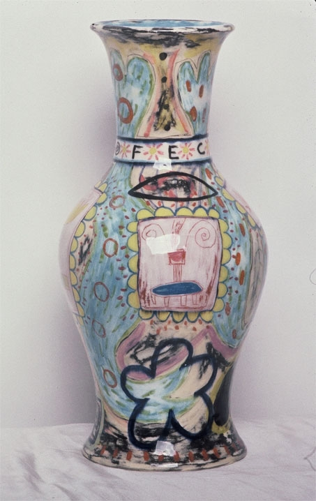 """Fecund Vase 14"""" x 8"""" diameter [Sold]"""