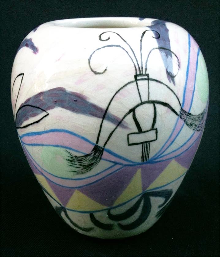 "Small Vase 5"" x 4"" diameter"