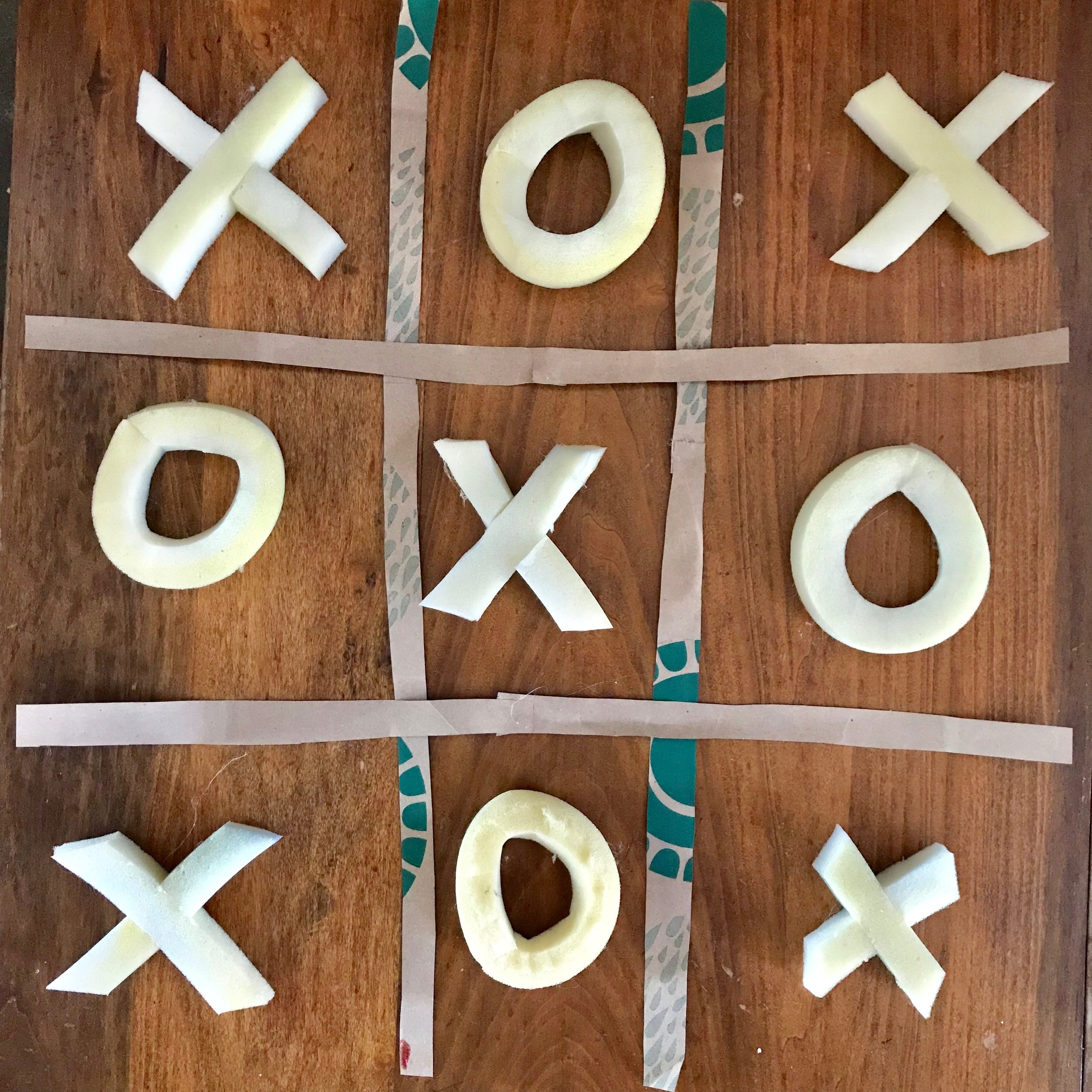 Day 287. Tic-Tac Toe Board
