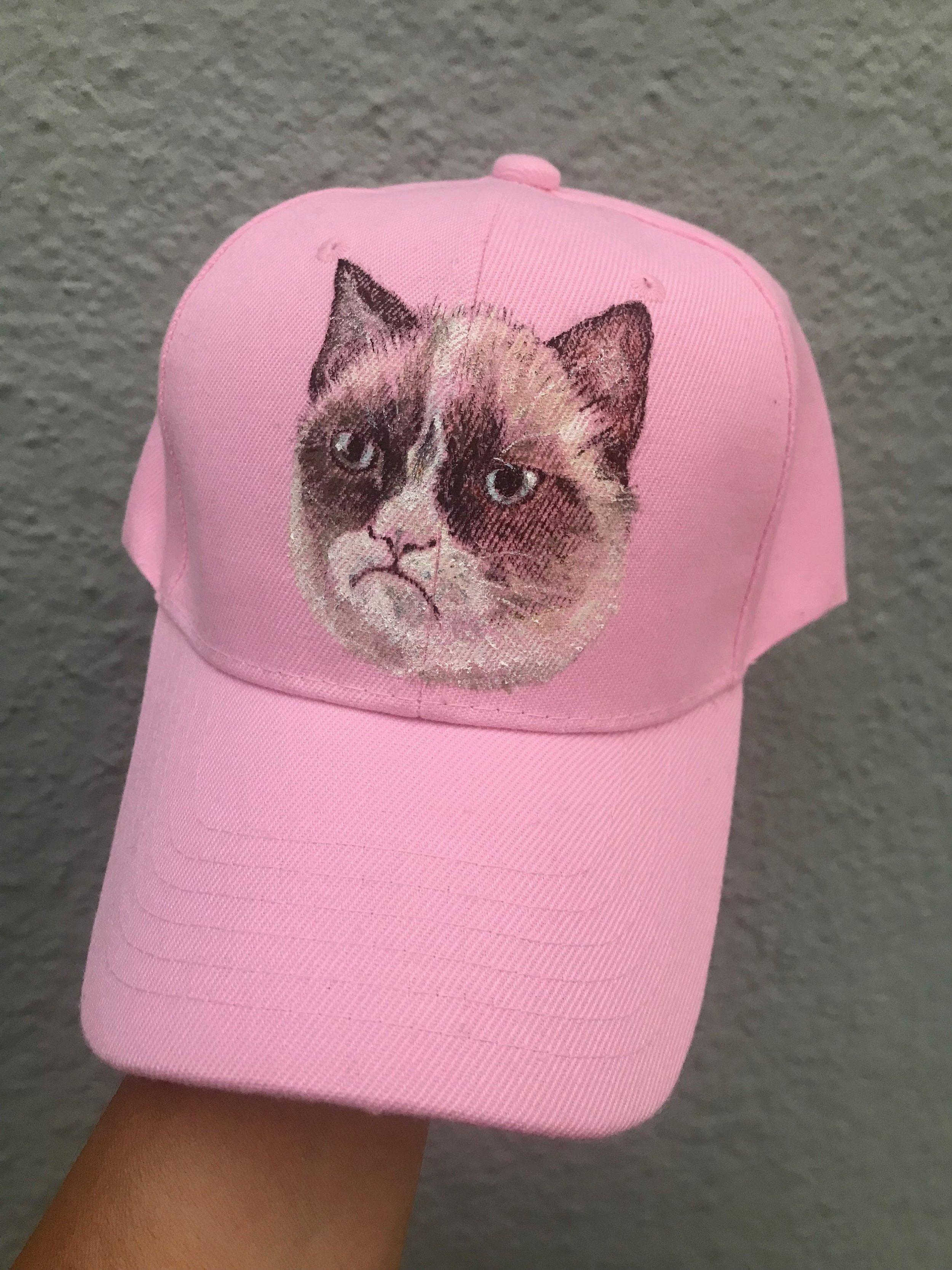 Day 313. Grumpy Cat on a Hat