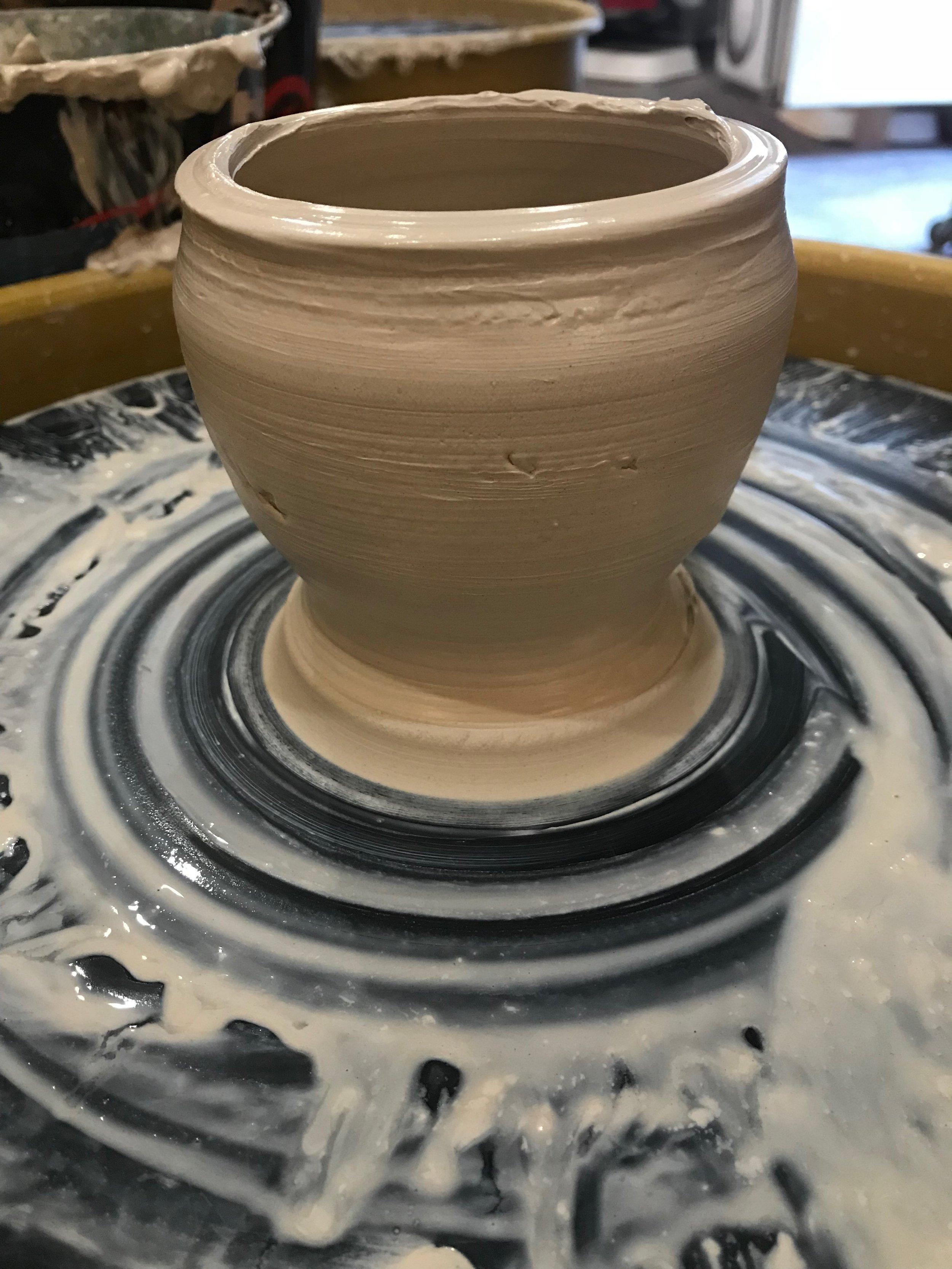 Day 340. Today I threw a Pot.