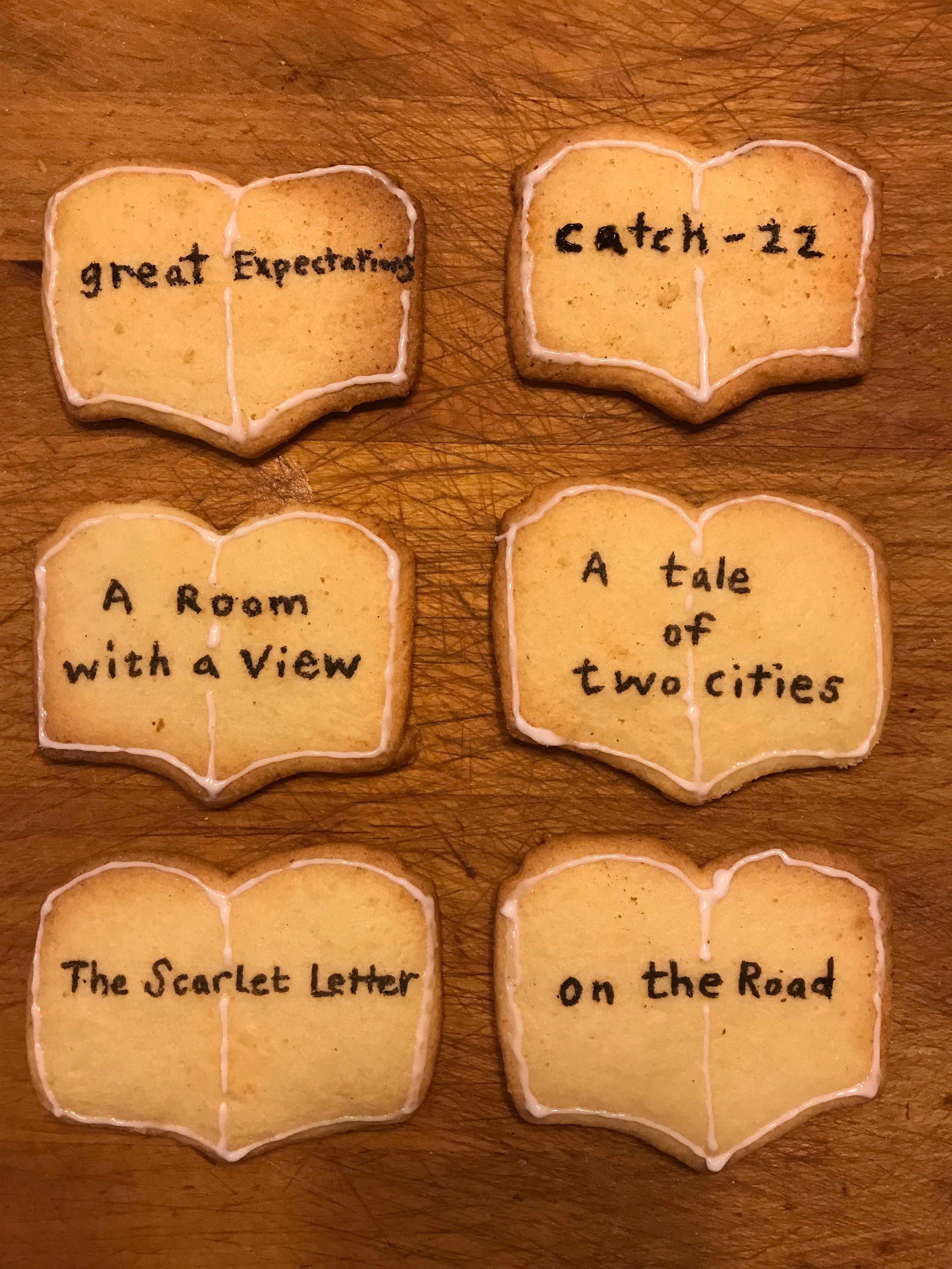 Day 349. Classic Book Sugar Cookies