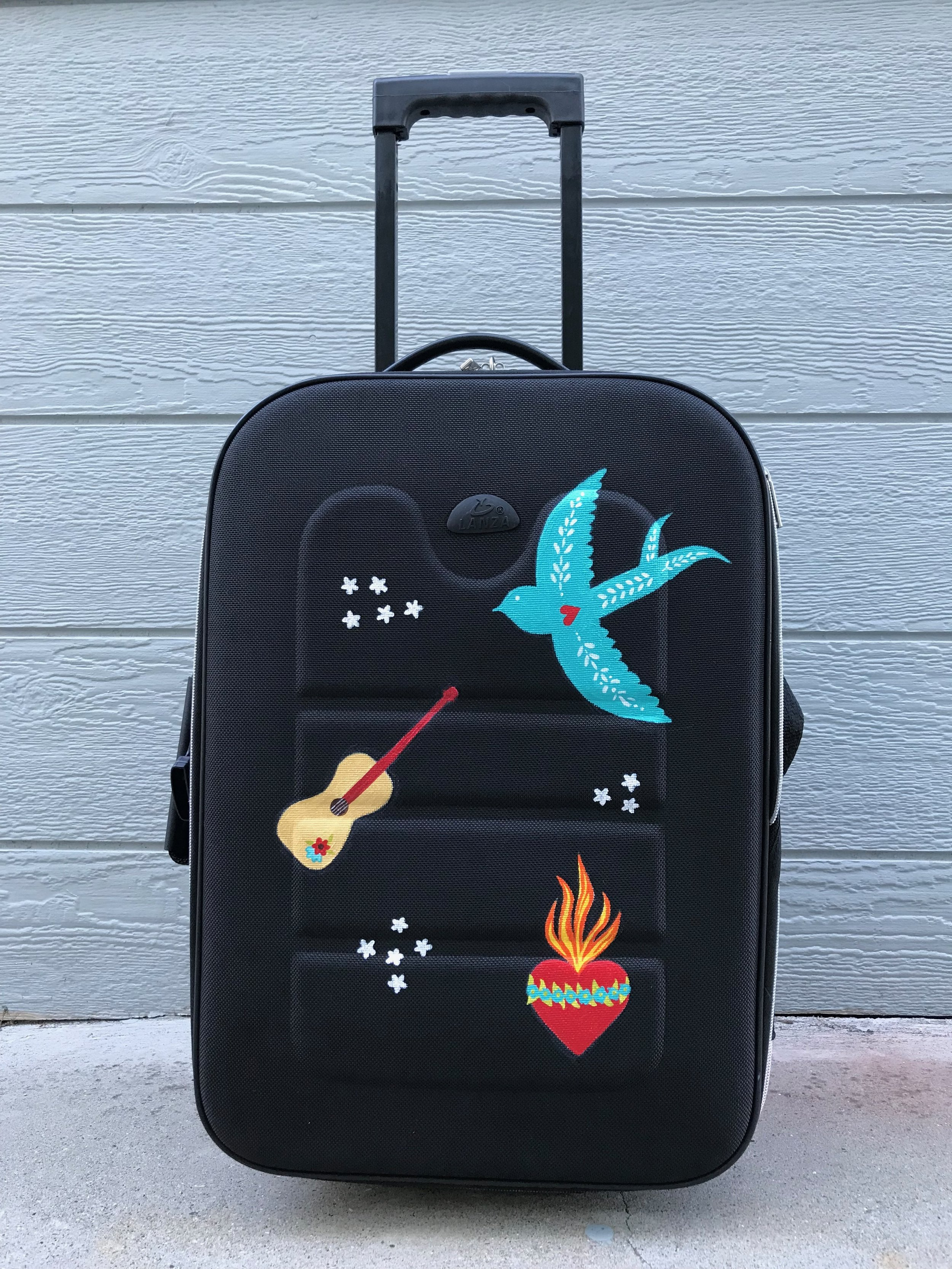 Day 361. Hand-Painted Luggage