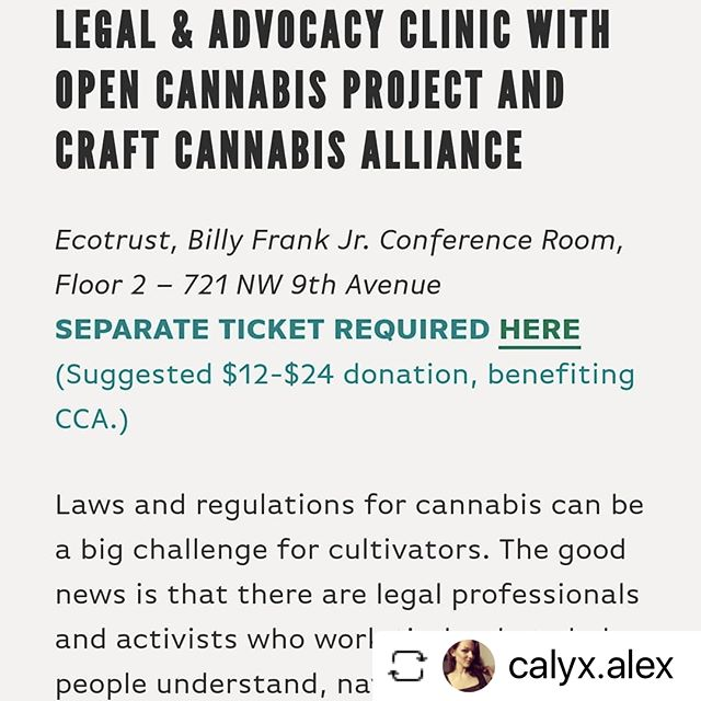🌳 🛤️ See you there! #ONEFix #roadtoexport #ourcraftfuture #LicensedInterstateTransfer #GetLIT #momentum #onefixcannabis