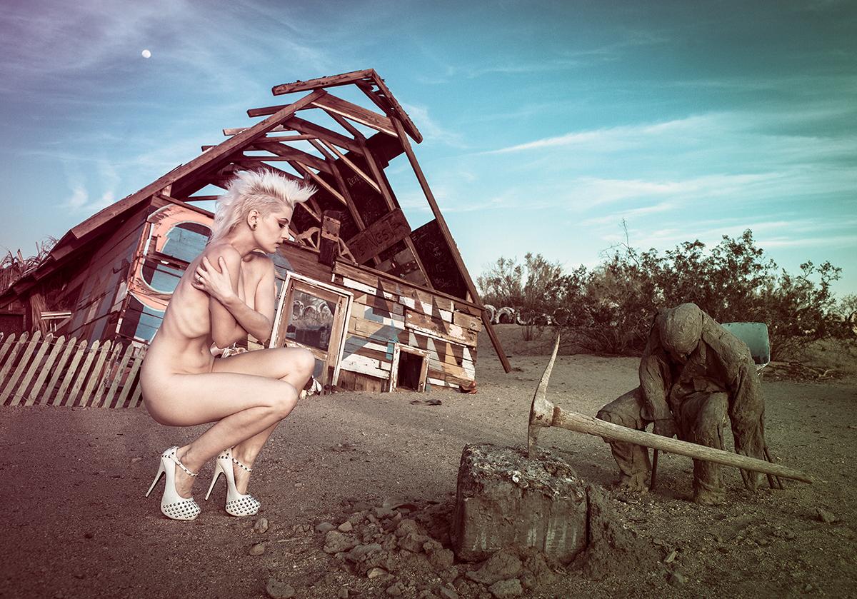 Fashion Nude. East Jesus, CA (2017)