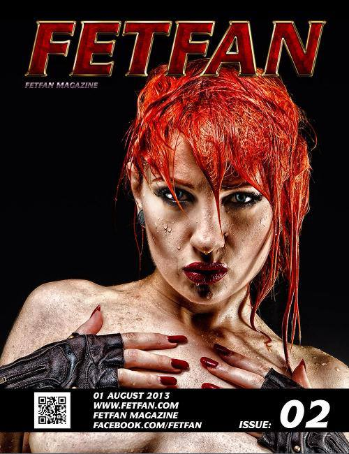 Fetfan magazine cover