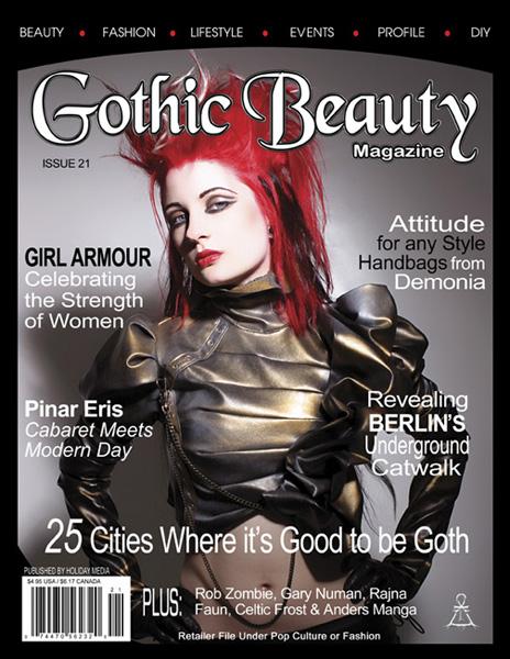 Gothic Beauty magazine cover